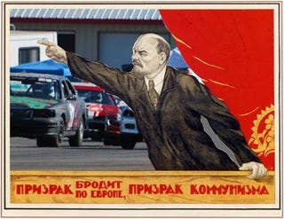 Illustration for article titled Comrades! All Hail The First-Ever Soviet 24 Hours Of LeMons Car!