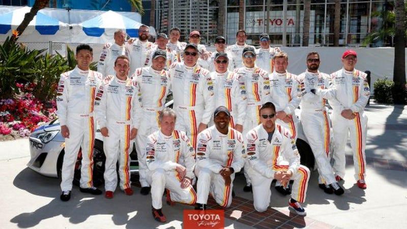 Photo credit: Toyota Racing