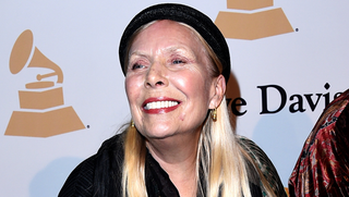 Illustration for article titled Joni Mitchell Had An Aneurysm In March, Remains In Serious Condition