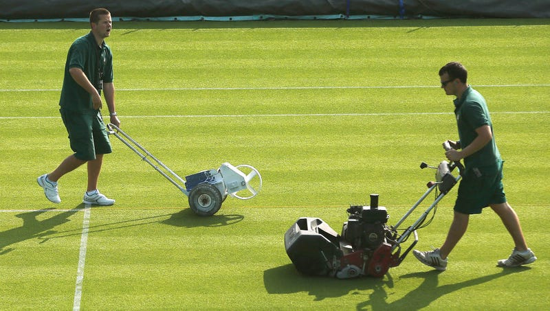 Illustration for article titled Wimbledon Grounds Crew Frustrated After Learning About Cement Courts