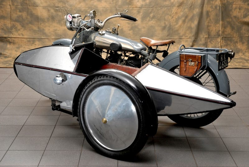 Jaguar S Origins Swallow Sidecar Co