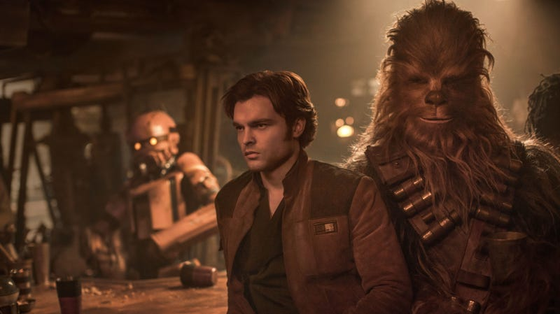 Illustration for article titled Solo'swriters reveal the reasoning behind that unexpected cameo