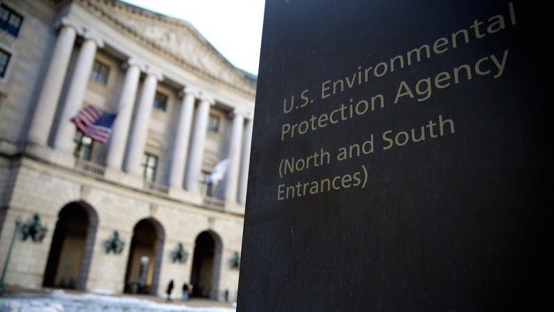 EPA under Trump shrinks to near Reagan-era staffing levels