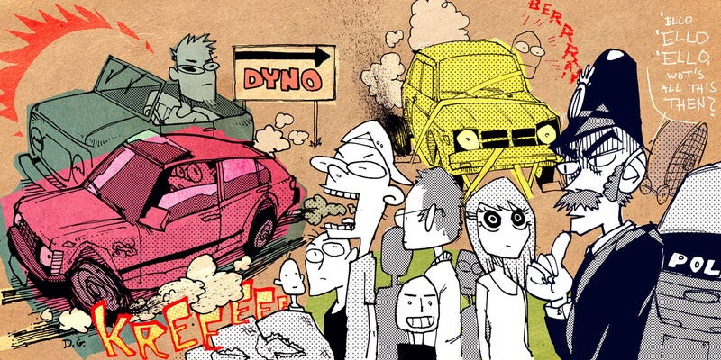 Illustration for article titled Let Mr. Regular Take You Inside A Truly Crazy Dyno Day