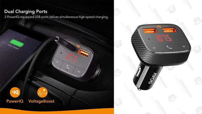 Anker SmartCharge F0 Bluetooth FM Transmitter | $11 | Amazon | Clip coupon on the page and use promo code ROAVARA2