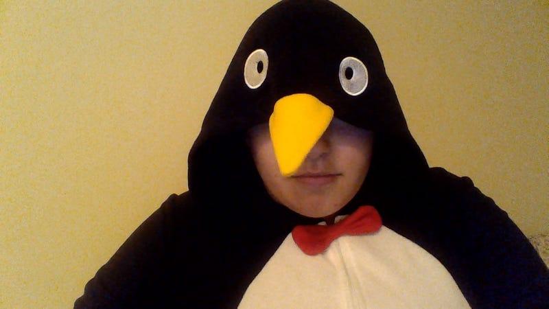 Illustration for article titled I'm living the penguin life