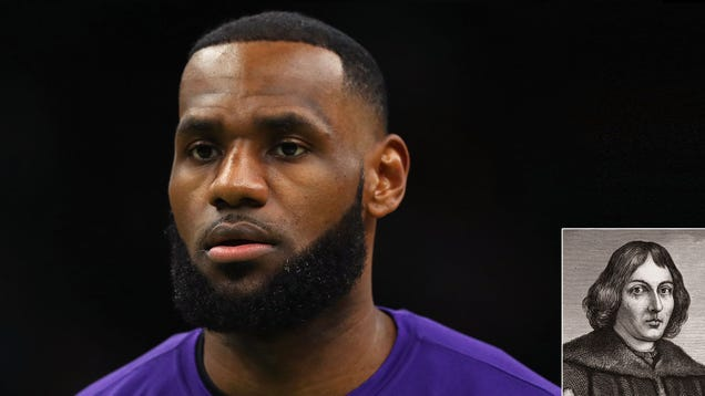 Depressed LeBron James Realizes That At His Age Copernicus Was Developing Theory Of Heliocentrism