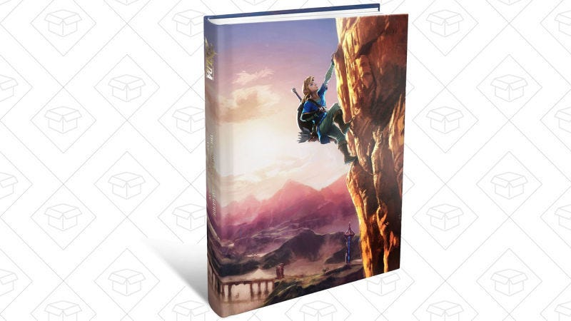 Guía Oficial Edición Coleccionista The Legend of Zelda: Breath of the Wild, $24
