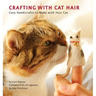 Illustration for article titled Authors Of Crafting With Cat Hair Want Your Kitty's Fur