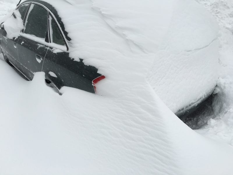 Illustration for article titled My Car Is a Snow
