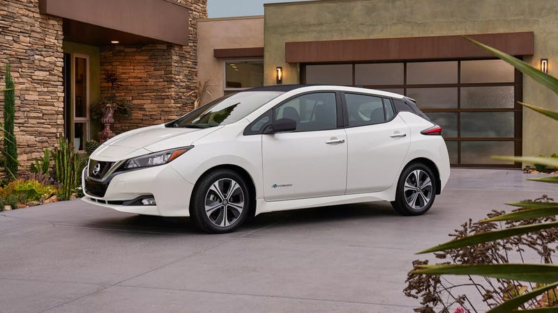 150 miles of range for $30875 — Nissan Leaf