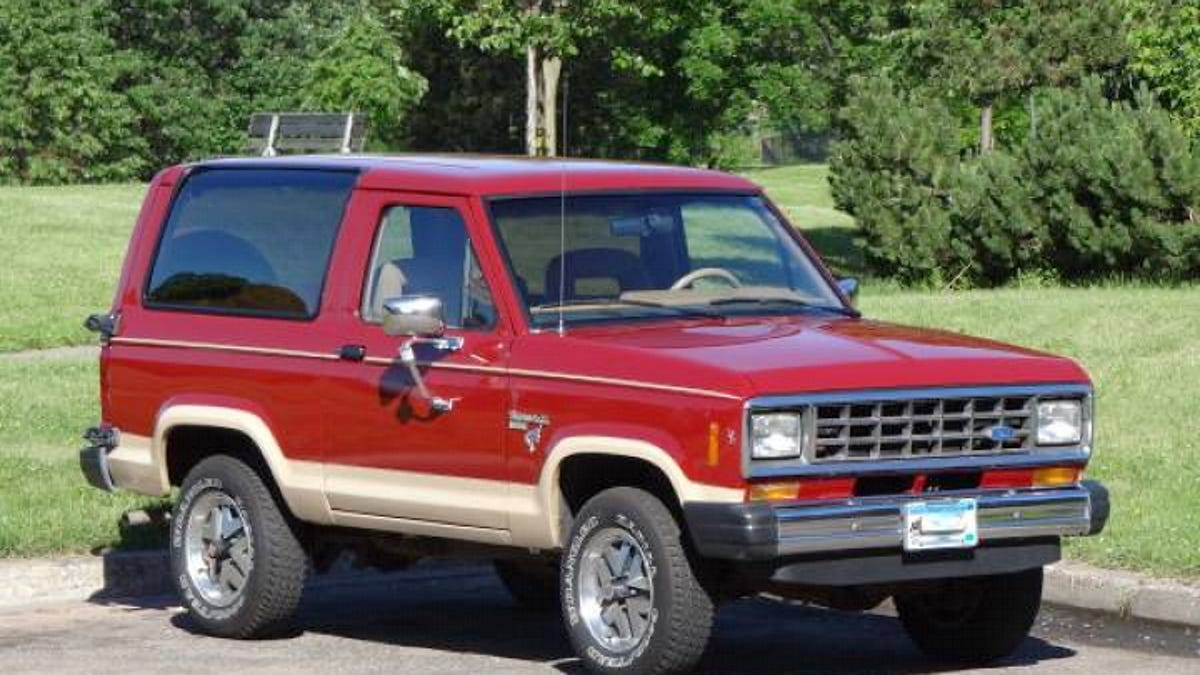 Could this pristine 1985 ford bronco ii be worth 13700
