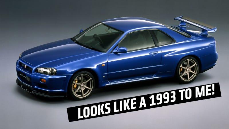 1999 Skyline GT-R V·spec pictured