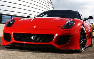 Illustration for article titled REPORT: Ferrari Planning Hardcore 599 GTO