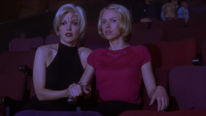 Laura Elena Harring and Naomi Watts in Mulholland Drive (Image: Universal Pictures)