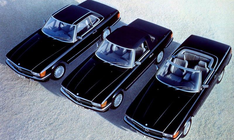Photo Credit: Mercedes-Benz (1970s-1980s Mercedes SL pictured)