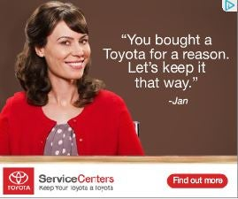 Is anyone else creeped out by Toyota Jan?