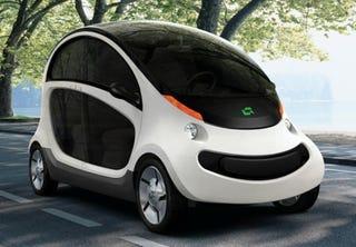 Illustration for article titled Shiny, Happy Chrysler EV Really Called GEM Peapod