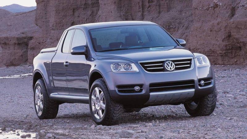 Vw Diesel Truck >> We May See A Volkswagen Pickup Truck Concept This Week