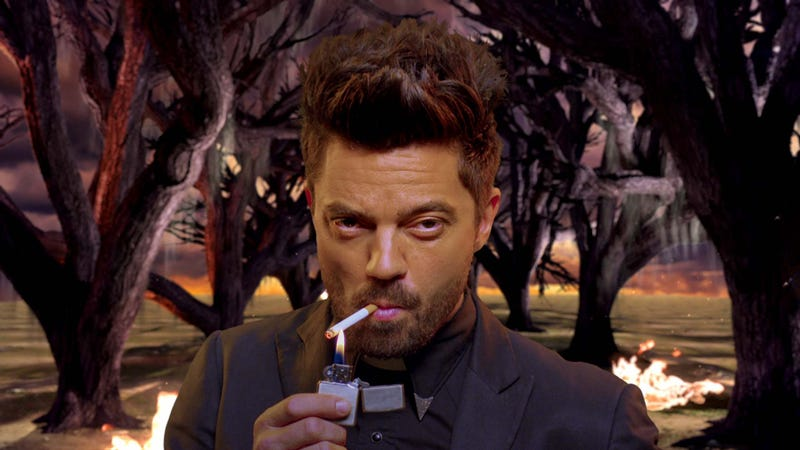 Jesse Custer will face his past to venture into the future on Preacher.