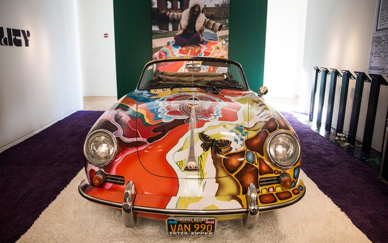 Illustration for article titled You Could Buy 16 Janis Joplin Porsches For The Price Of One Fangio Ferrari