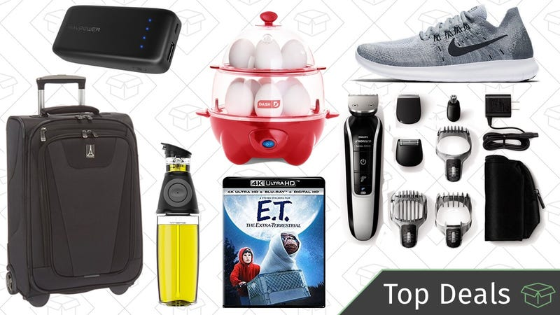 Illustration for article titled Wednesday's Top Deals: Philips Norelco Groomer, Egg Cooker, Travelpro Suitcase, and More