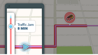 Illustration for article titled Waze Now Tells You How Long You'll be Stuck in Traffic