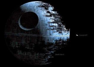 Illustration for article titled El tamaño del cometa 67P comparado contra naves de la ciencia ficción