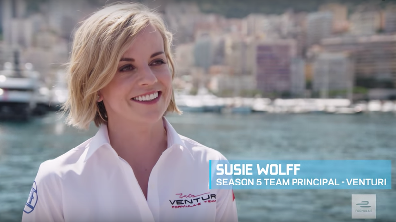 Illustration for article titled Susie Wolff Becomes the First Female Team Principal to Win a Race in Formula E