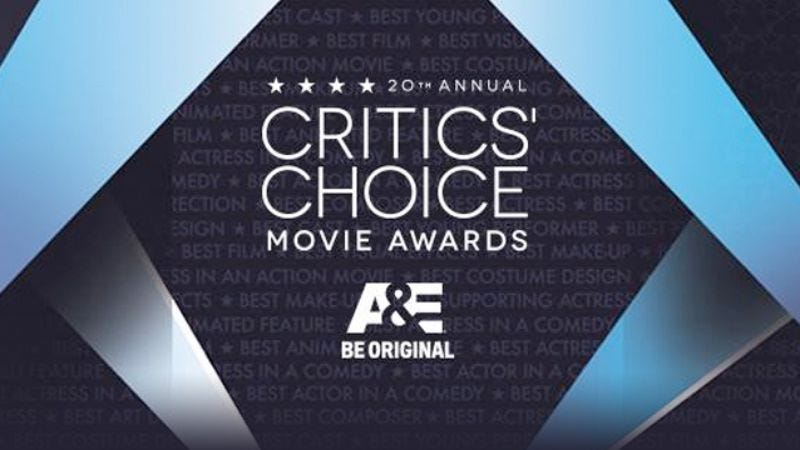 Illustration for article titled Win an iPad Air prize package courtesy of the Critics' Choice Movie Awards