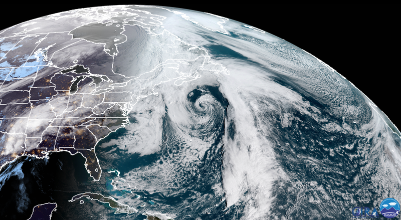 Almost nor'easter number five spun up offshore earlier this week