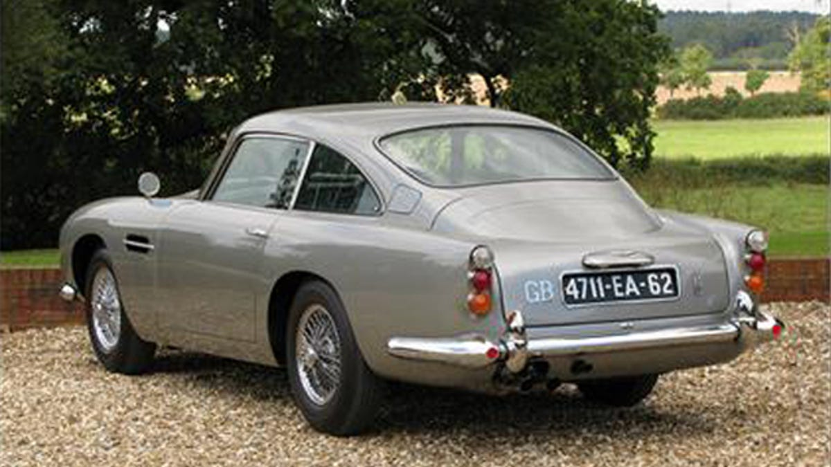 James Bond S Aston Martin Db5 Is For Sale