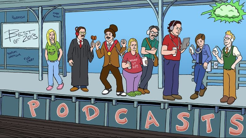 Illustration for article titled The best podcasts of 2013