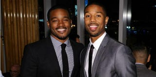 Fruitvale Station director Ryan Coogler and actor Michael B. Jordan (Brian Bedder/Getty Images)