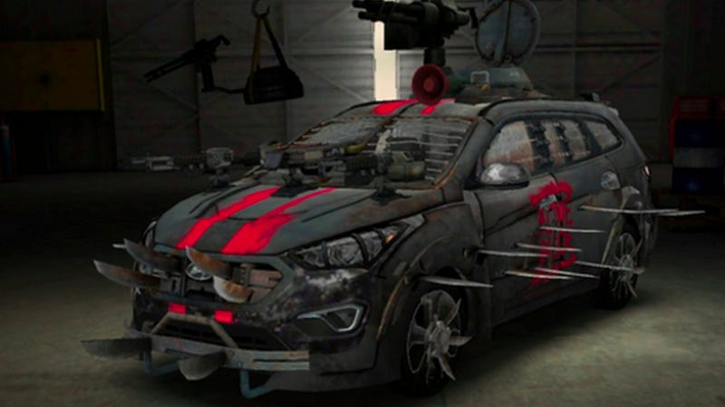 Hyundai And The Walking Dead Bring Fan Designed Zombie Survival
