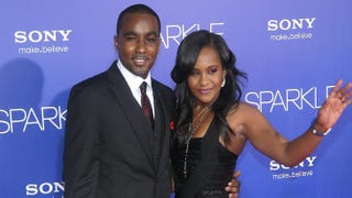 Nick Gordon and Bobbi Kristina Brown in 2012Maury Phillips/Getty Images