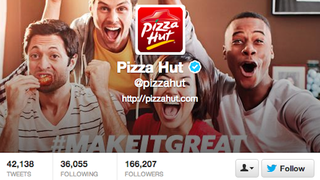 Illustration for article titled You Can Be Pizza Hut's Social Media Manager If You Can Interview in 140 Seconds