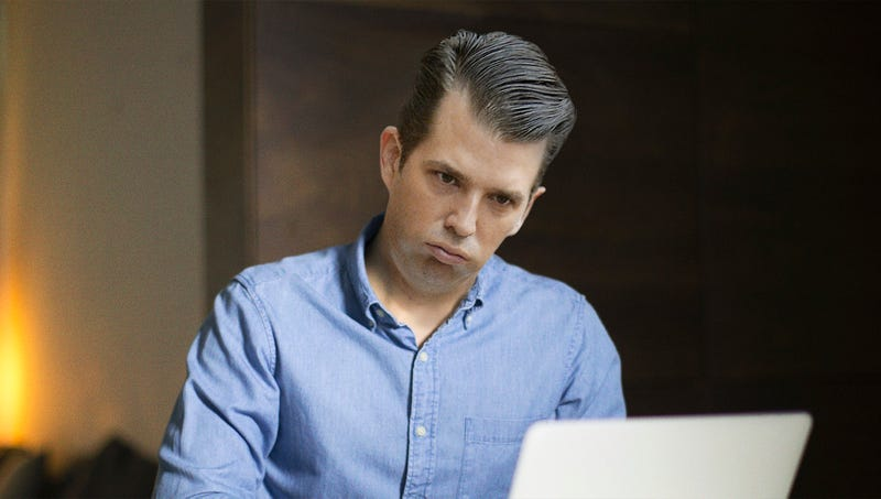 Illustration for article titled Panicked Donald Trump Jr. Tries To Cover Up Contact With WikiLeaks By Deleting Firefox Icon From Desktop