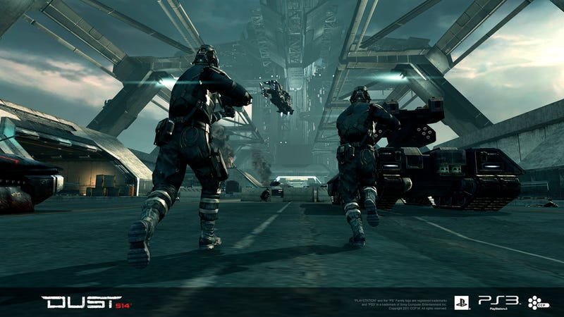 Illustration for article titled Will EVE Online's Console Shooter be PS3-Exclusive?