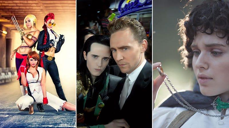 Illustration for article titled Loki Cosplayer Meets Loki, Universe Implodes