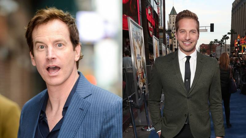 Rob Huebel and Ryan Hansen (Photos: Ray Tamarra/GC Images, Todd Williamson/Getty Images)