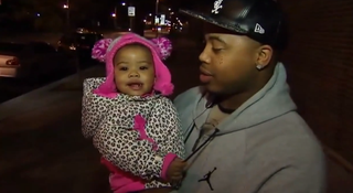 Cornelius Jones with his daughter, JourneeFox 32 Chicago