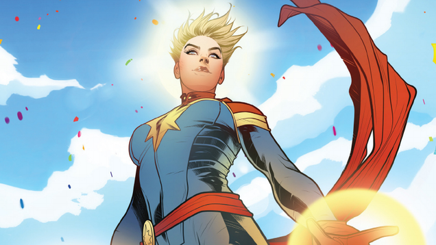The New Captain Marvel Comic Might Have Tweaked Her Origin Story