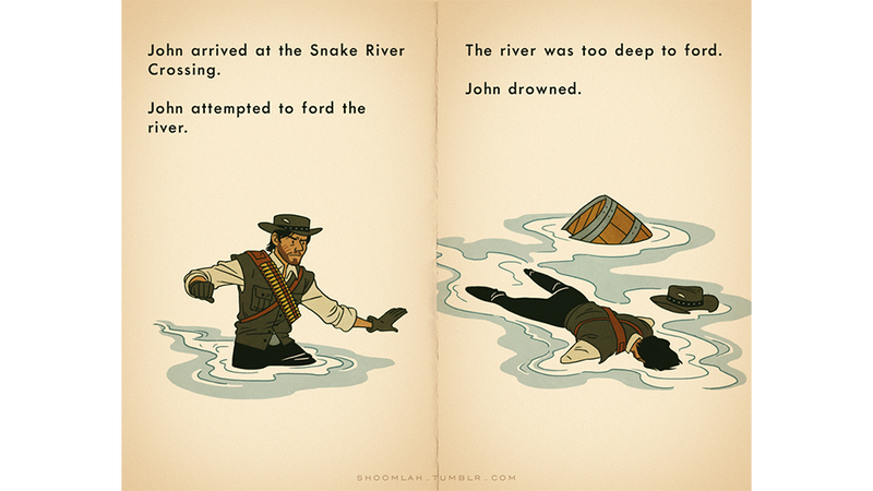 Illustration for article titled John Marston Died On The Oregon Trail