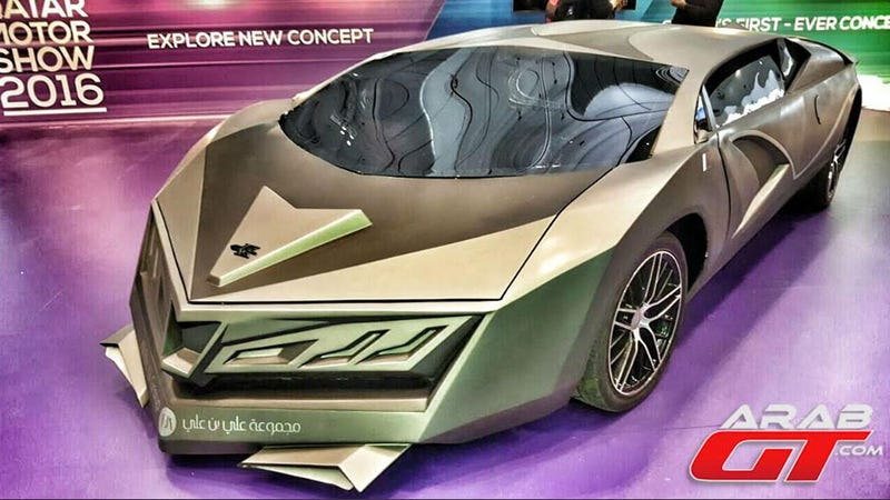Qatar S First Ever Sports Car Is Unveiled But Maybe That Wasn T