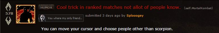 Maybe Scorpion Is A Little Too Popular In Mortal Kombat X