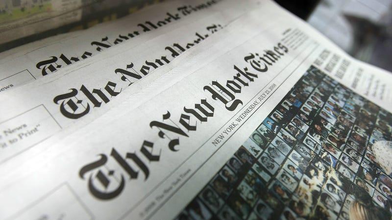 Illustration for article titled New York Times Demotes Bad Tweet Machine Jonathan Weisman