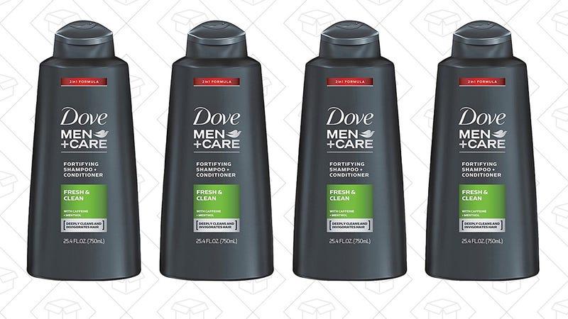 4-Pack Dove Men+Care Shampoo/Conditioner | $19 | Amazon | Clip the $4.75 coupon