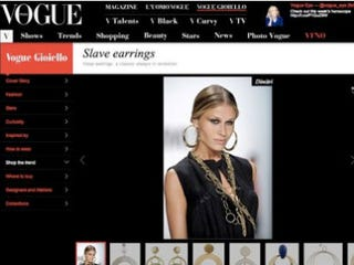 Illustration for article titled Vogue Says Sorry for 'Slave Earrings'