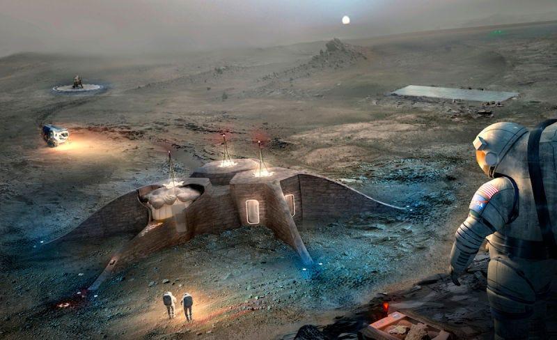 Resultado de imagen de Colonizar el Espacio con Robots